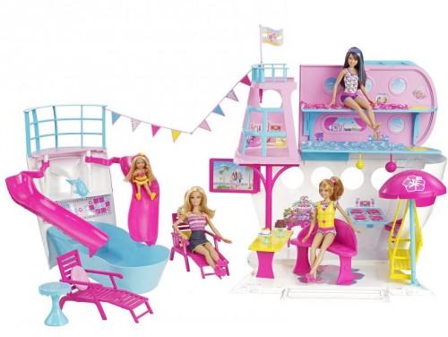 Nave Da Crociera Di Barbie  Mattel  Offerte Prezzi Sconti
